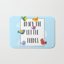 Enjoy The Little Things Bath Mat