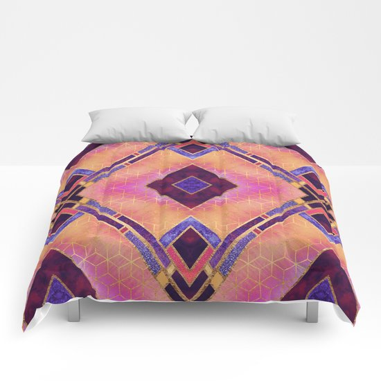 Magical Geo 1 Comforters