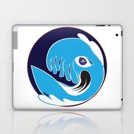 Waveboarder Smiley Laptop & iPad Skin
