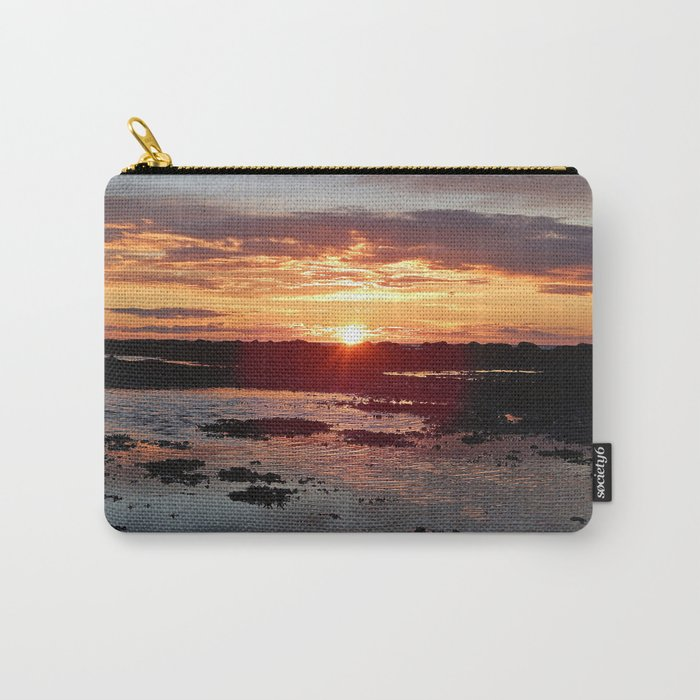 Sunset from the Beach Carry-All Pouch