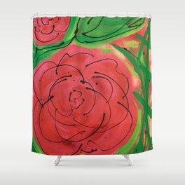 My Wild Irish Rose Shower Curtain