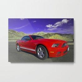 Mustang Coupe Metal Print