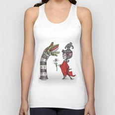 Lydia and the Sandworm Unisex Tank Top
