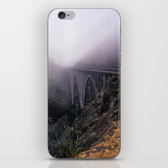 Bridge in Fog iPhone & iPod Skin
