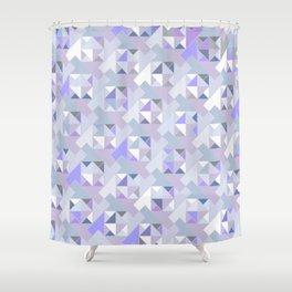 Hopscotch Algorithm (violet) Shower Curtain