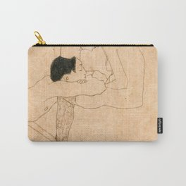 Egon Schiele Lovers Carry-All Pouch