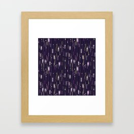Light Speed Baby Framed Art Print