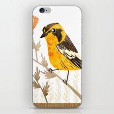 Blackburnian Warbler iPhone & iPod Skin