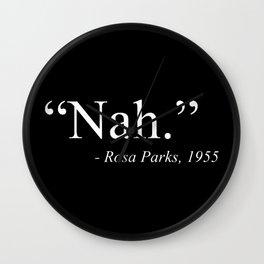 Rosa Parks Wall Clock