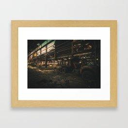 Shift Aftermath Framed Art Print