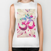 om Biker Tanks featuring OM by Pranatheory