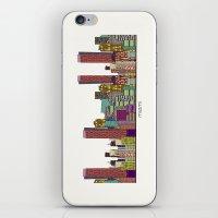 miami iPhone & iPod Skins featuring Miami by bri.buckley