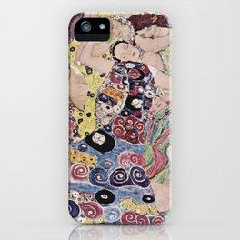 Gustav Klimt - The Maiden iPhone Case