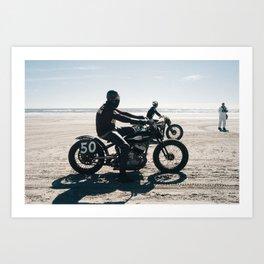 The Race of Gentlemen 8 Art Print