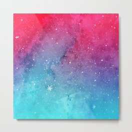 Polarlight Galaxy Metal Print