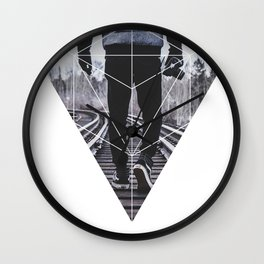 Photographic Path - Geometric Photography Wall Clock