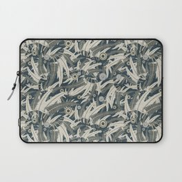 embroidered feathers Laptop Sleeve