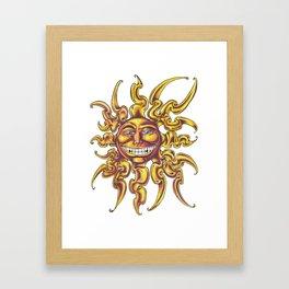 Soul del sol Framed Art Print