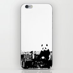Giant Panda Invades Toa Payoh. iPhone & iPod Skin