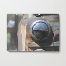 Lockwood Rust Metal Print