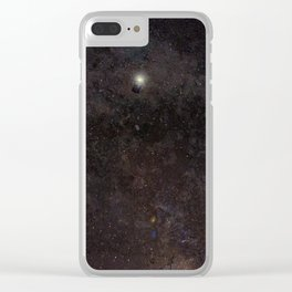 The Doctor and The Stars Clear iPhone Case