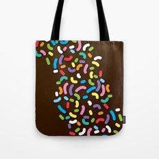 Chocolate Donut Sprinkles Tote Bag