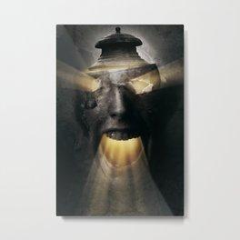 The Screaming One Metal Print