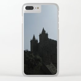 medieval castle Clear iPhone Case