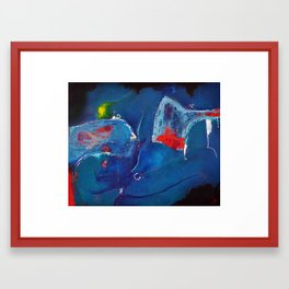 EGO Framed Art Print