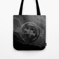Star Wars Imperial Tie Fighters in Gray Tote Bag