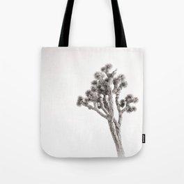 Joshua Tree in Black & White Tote Bag