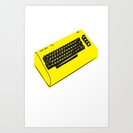 C64... retro gaming at it_s best Art Print