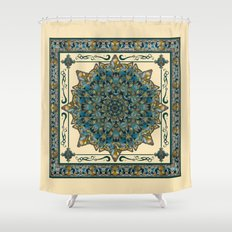 Stained Glass Mandala 2 Shower Curtain