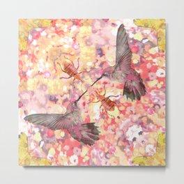 hummingbird dream Metal Print