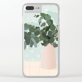 Body love Clear iPhone Case