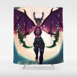 Demon Hunter Shower Curtain