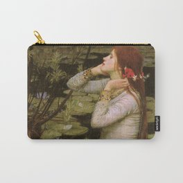 Ophelia by John William Waterhouse Carry-All Pouch