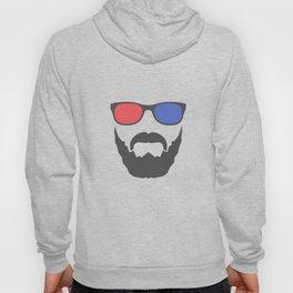 3D beard Hoody