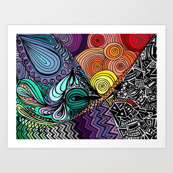 Extrovert Art Print