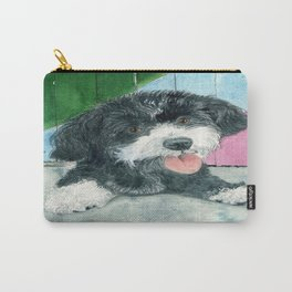 Sammy the Parti-poodle Pup Carry-All Pouch