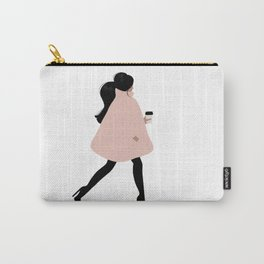 Bubble Coat Illustration by Sabina Fenn Carry-All Pouch