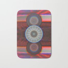 Three Mandalas Bath Mat