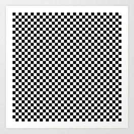 Chessboard 36x36 Art Print