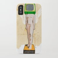 evolution iPhone & iPod Cases featuring Evolution by Marko Köppe