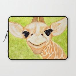 Curious Giraffe Laptop Sleeve