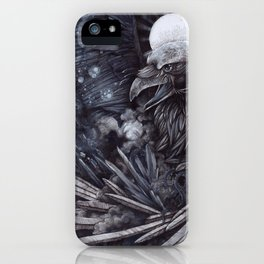 Birth of the Star iPhone Case