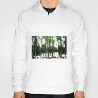 woodland Hoodies featuring Woodland by PRETTY BONES LEE