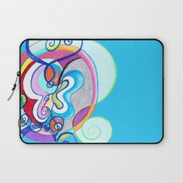Free as a Butterfly Laptop Sleeve