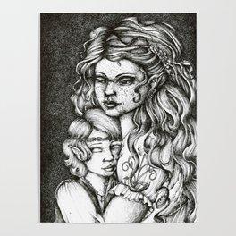 Nerdanel and little Maedhros Poster