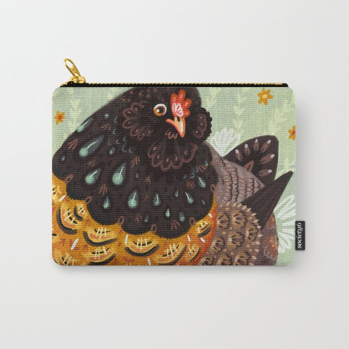 Golden Chicken Carry-All Pouch